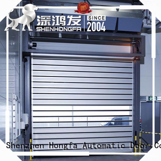 Hongfa high-tech high speed spiral door shop now for factory