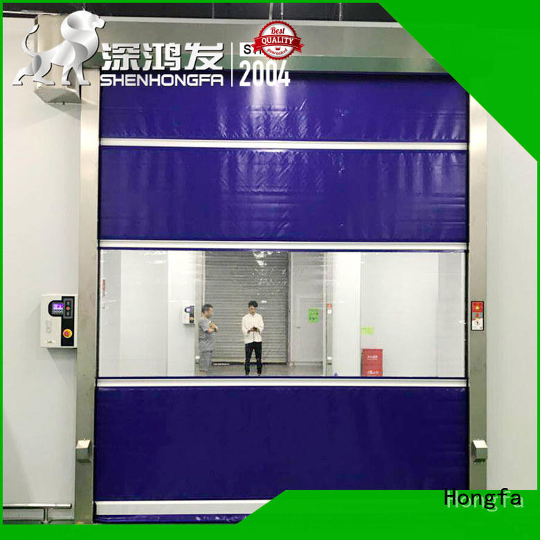 professional roll up high speed door remote supplier for factory