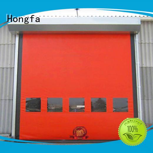 zipper door selfrepairing for warehousing Hongfa
