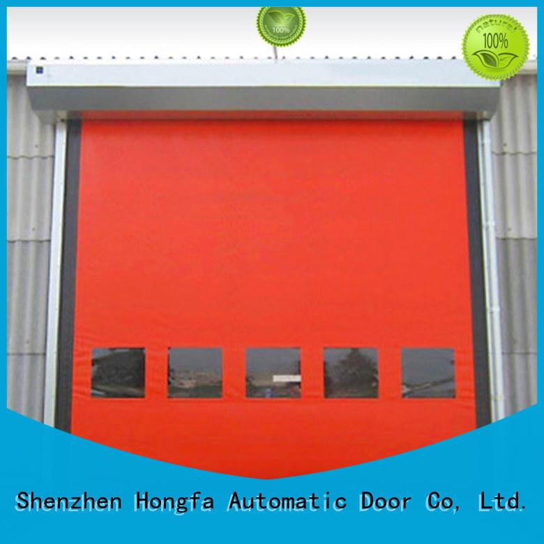 Hongfa speed zipper door experts for supermarket