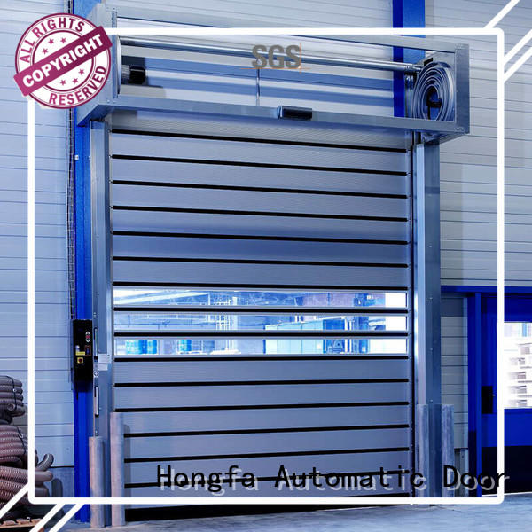 Hongfa high-quality high speed spiral door for wholesale for parking lot