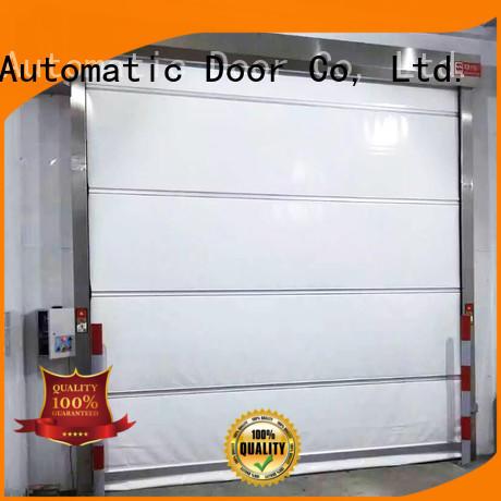 Hongfa industrial roll up doors interior marketing for food chemistry textile electronics supemarket refrigeration logistics