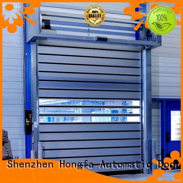 automatic high speed spiral door from china for cold room Hongfa