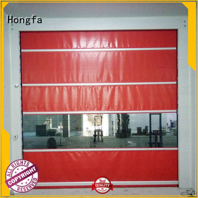 perfect roll up door clear supplier for food chemistry textile electronics supemarket refrigeration logistics