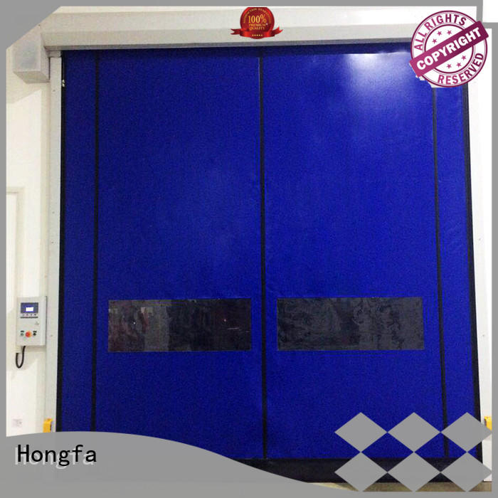 Hongfa automatic 10 by 10 roll up door marketing for cold storage room