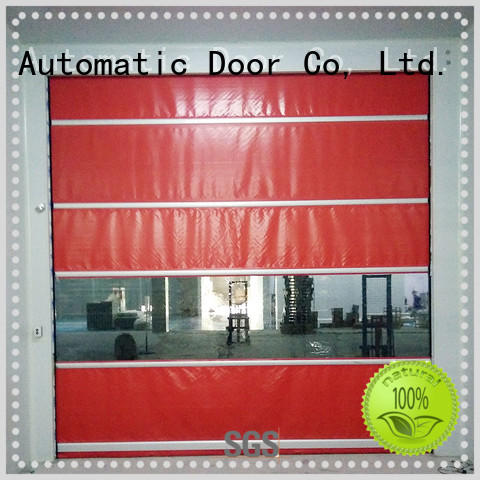 Hongfa action commercial roll up door parts supply for warehousing
