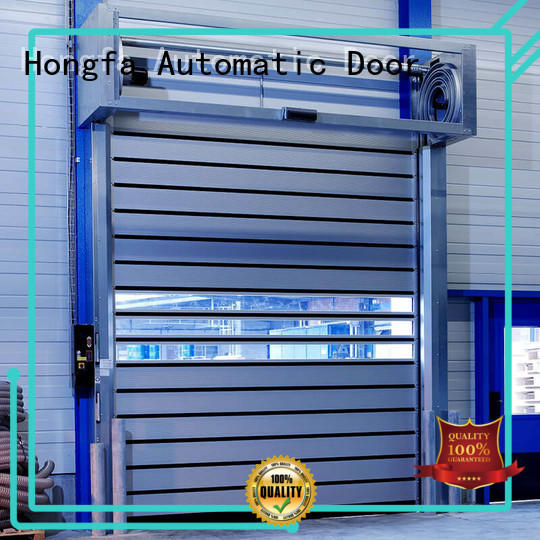 Hongfa fast high speed spiral door buy now for cold room