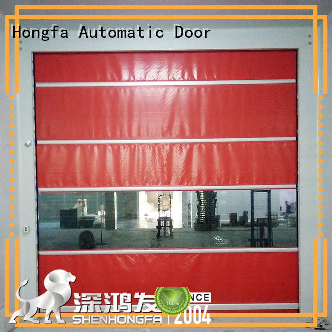 Hongfa automatic automatic roll up door widely-use for storage