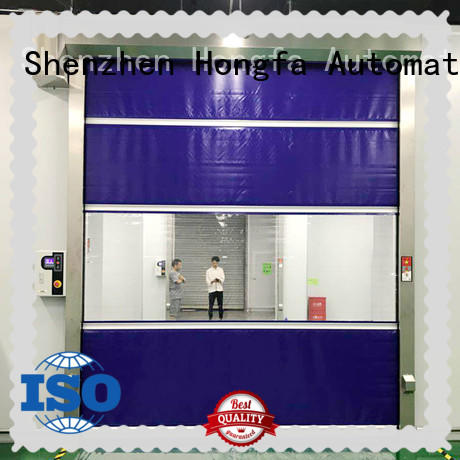 professional pvc high speed door performance in different color for storage