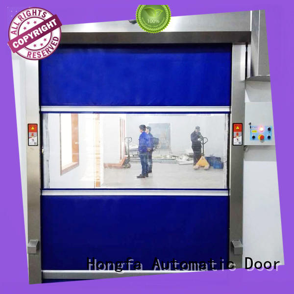 control curtain automatic Hongfa Brand industrial roller doors factory