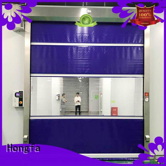 Hongfa performance high speed door newly for storage