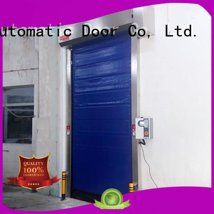 Hongfa pu cold storage doors manufacturer for supermarket