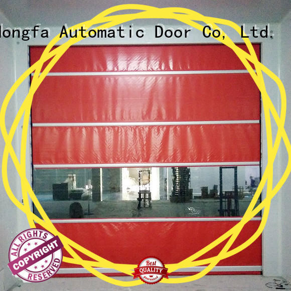 Remote control PVC Curtain fast speed door
