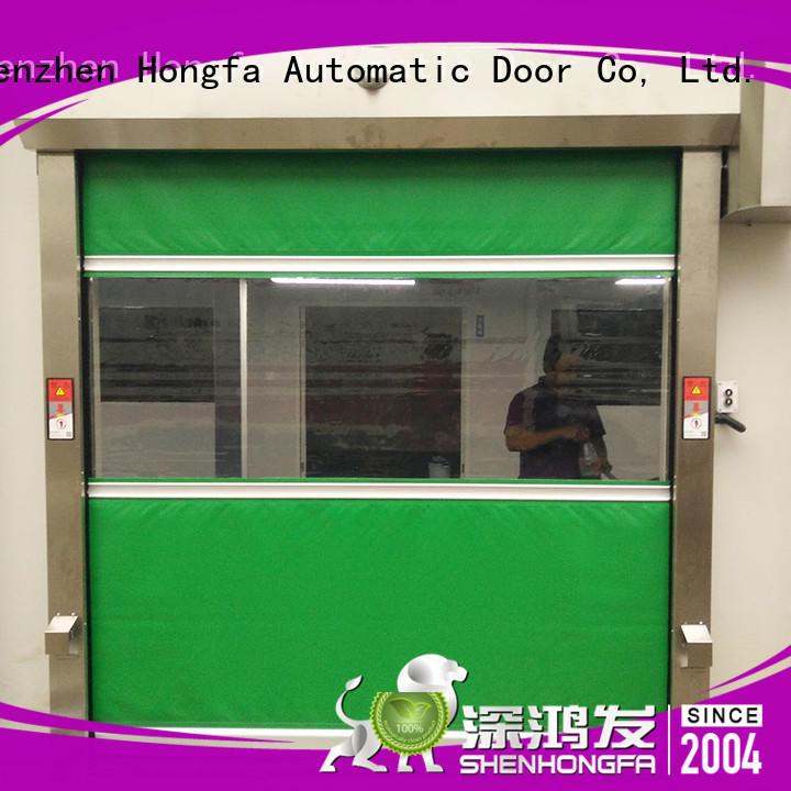 Hongfa high-tech high speed shutter door overseas market for factory