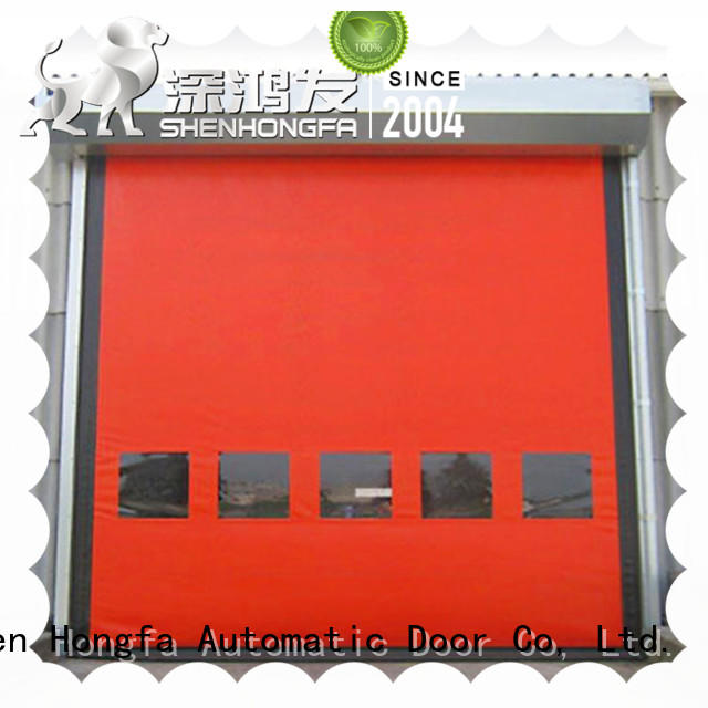 Auto-recovery high speed door