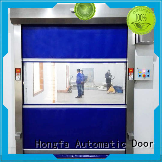 Hongfa fast high speed automatic door newly for storage