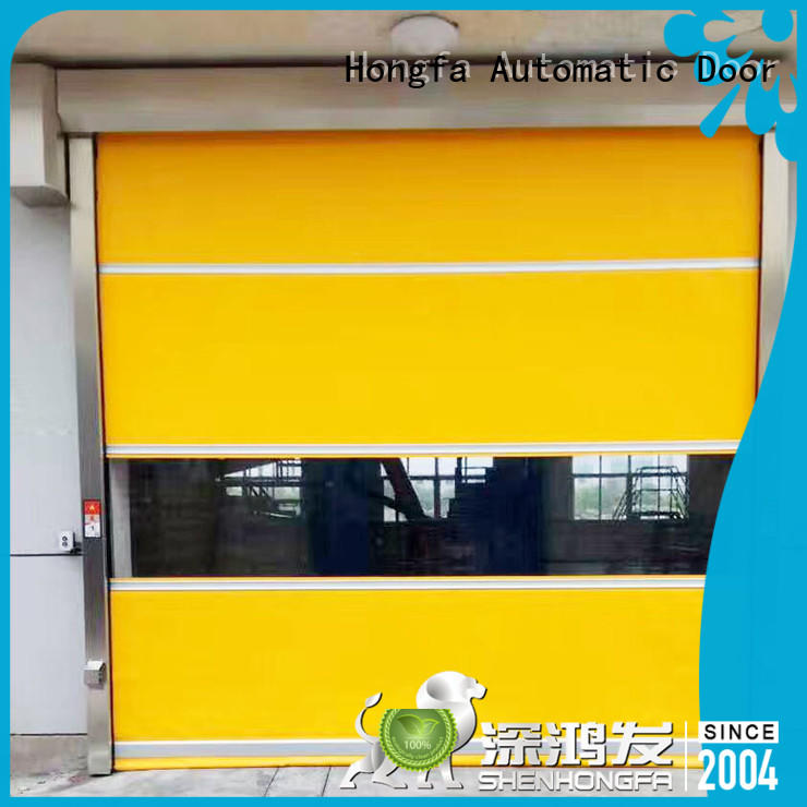 interior automatic roll up door supplier for supermarket Hongfa