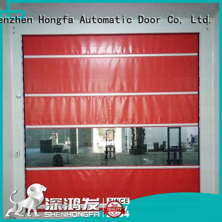 safe roll up door plastic supplier for supermarket