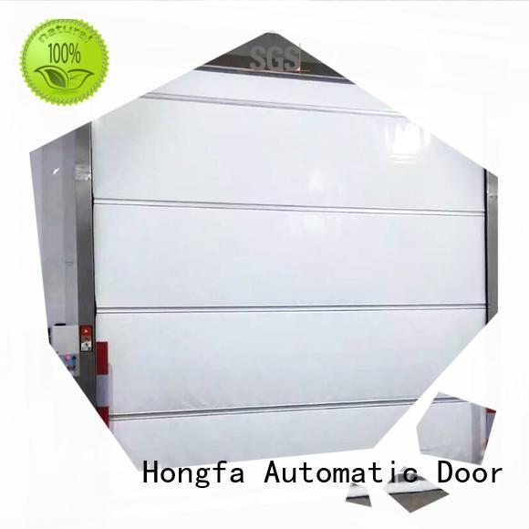 industrial automatic roll up door fabric Hongfa Brand