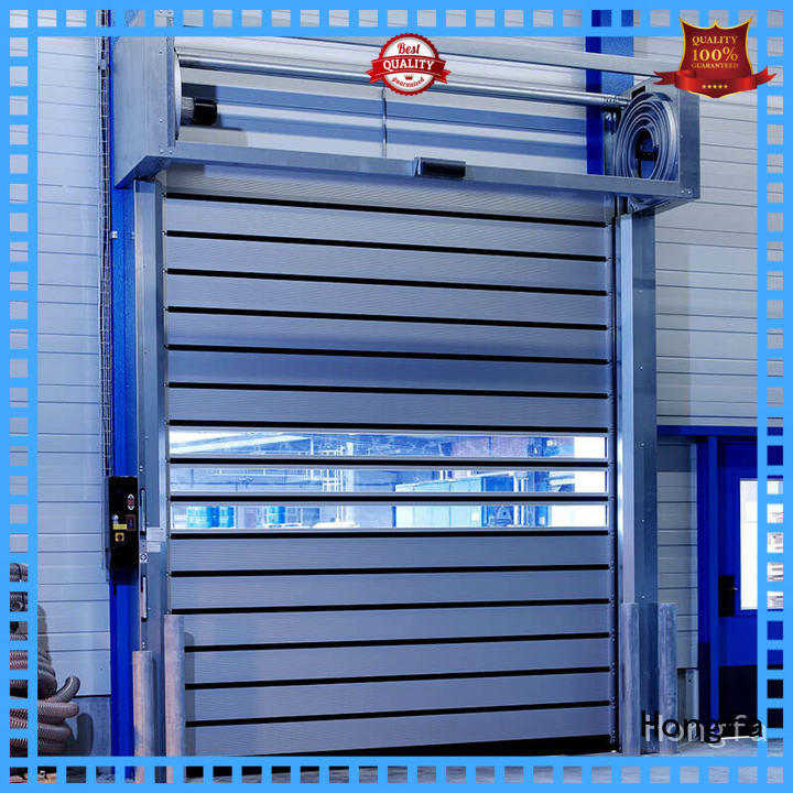 Hongfa high-quality spiral fast door buy now for industrial warehouse