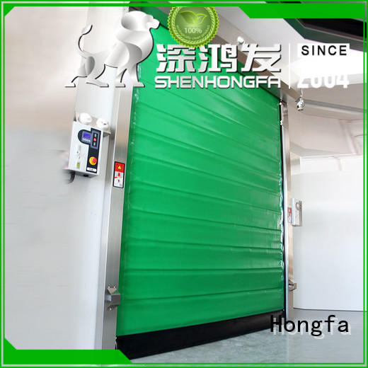 high-tech insulated pu foam door popular for warehousing Hongfa