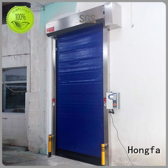 door fast door overseas market for cold storage room