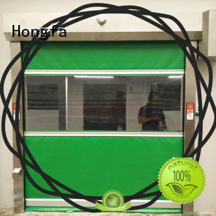 high-speed fabric roll up doors shutter marketing for food chemistry textile electronics supemarket refrigeration logistics