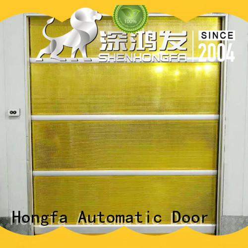 Hongfa interior high speed door overseas market for storage