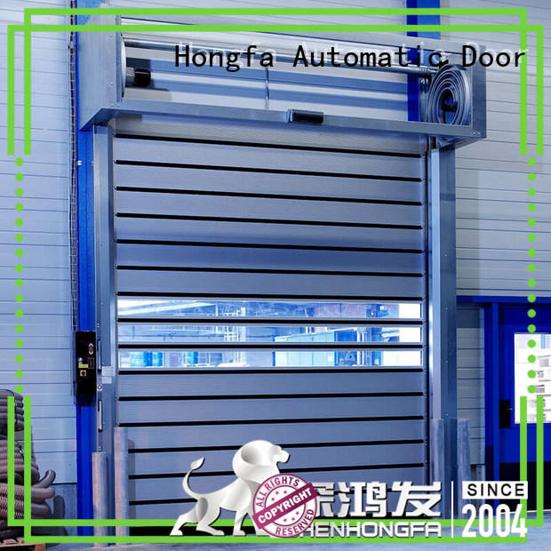 Hongfa fast security industrial fast door for parking lot