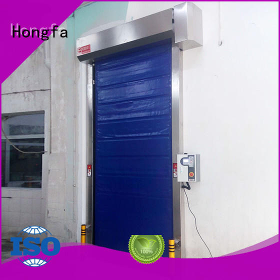 Hongfa fast cold storage door China for cold storage room
