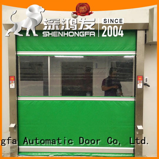 Hongfa perfect roll up high speed door in china for warehousing