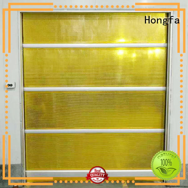 curtain roll up door factory price for storage Hongfa