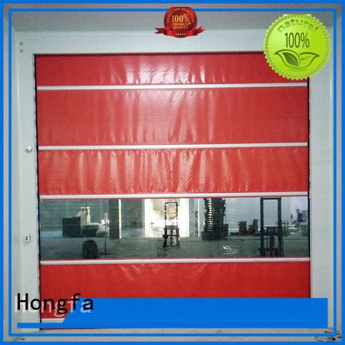 Hongfa industrial pvc high speed door factory price for warehousing