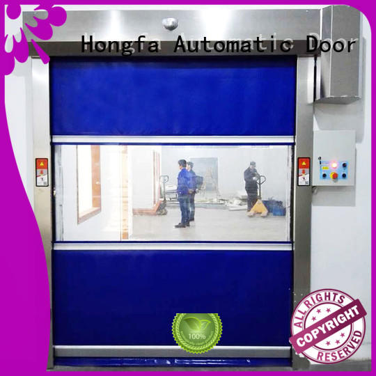 Hongfa high-quality PVC fast door widely-use for storage