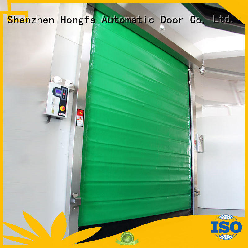 Hongfa high-speed fast door for-sale for supermarket