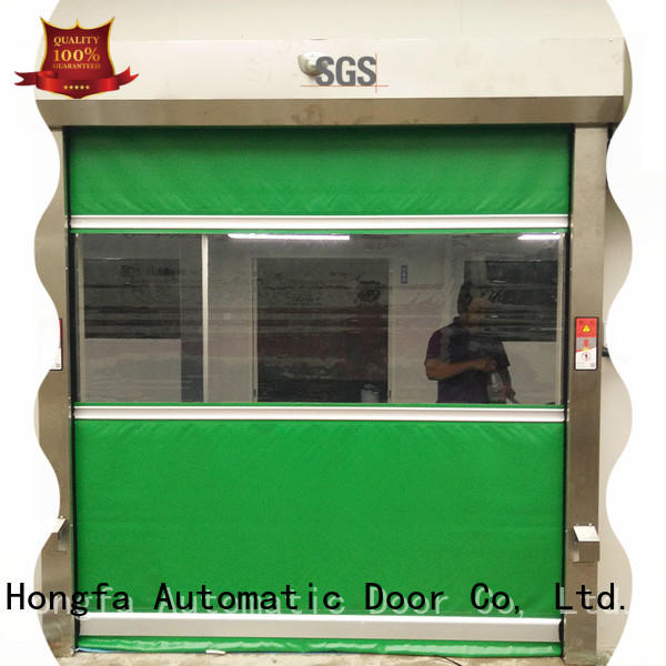 Hongfa professional speed shutter door company for supermarket