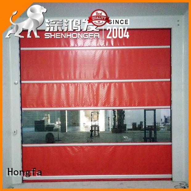 Hongfa roll up doors interior supplier for supermarket