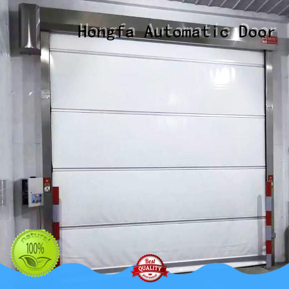 Hongfa room roll up doors interior newly for storage
