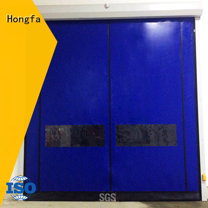 self repairing high speed doors zipper for warehousing Hongfa