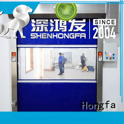 Fast speed PVC rapid interior door
