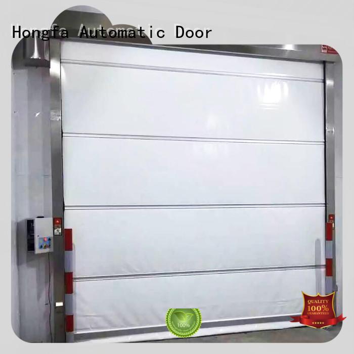 action high speed shutter door factory price for supermarket Hongfa
