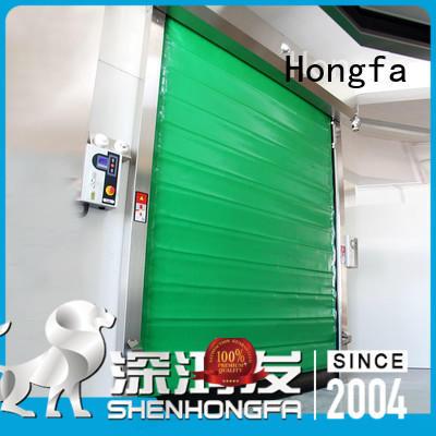foam cold storage doors supplier for warehousing Hongfa