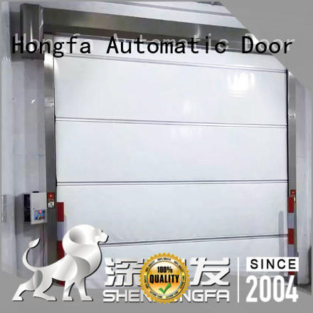 shutter PVC fast door overseas market for warehousing Hongfa