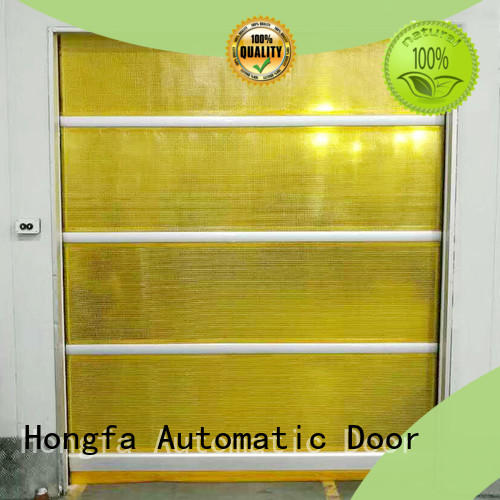 professional high speed shutter door performance supplier for warehousing