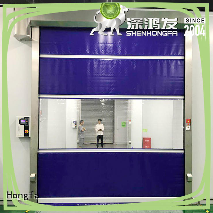 room PVC fast door newly for storage Hongfa