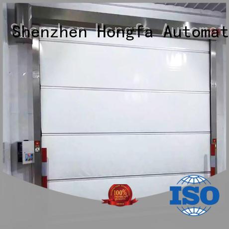 flexible high speed fabric doors roll for factory Hongfa