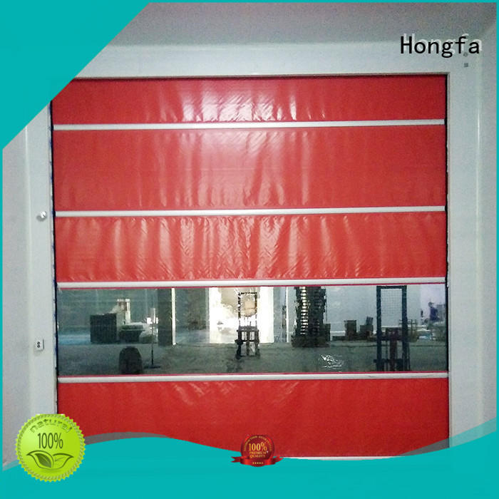 Hongfa roll up high speed door widely-use for supermarket