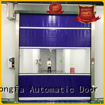 interior high speed shutter door overseas market for warehousing Hongfa