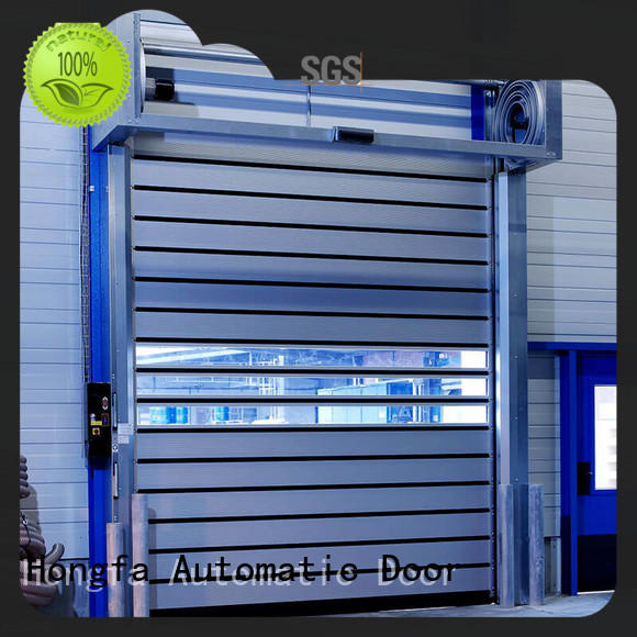 spiral 3x3 spiral door automatic for cold room Hongfa