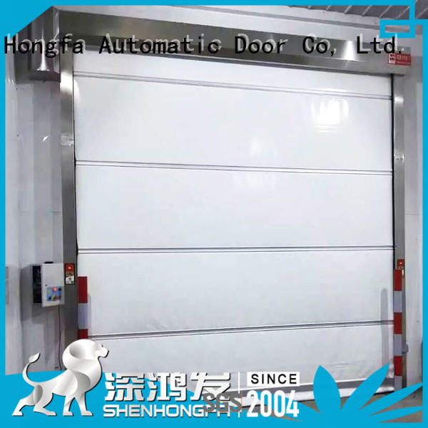 professional rapid roll up door rolling overseas market for supermarket